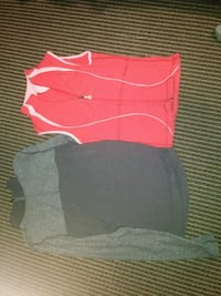 two red and black shirts Kitchener, N2M 1W9
