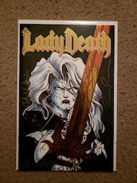 Chaos! Comics Lady Death #1 Twilight of Innocence Evesham Township, 08053