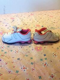 Pink & White Nike Shox Toddler Girl  Winnipeg