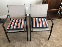 Two black-and-gray armchairs Woodbridge, 22191