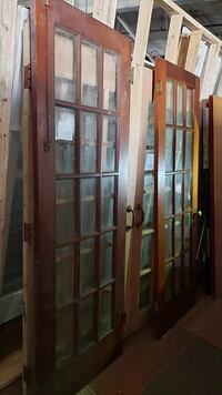 Antique French Door with 15 lites Kingston