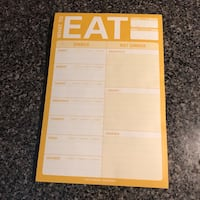 Meal planning notepad Surrey