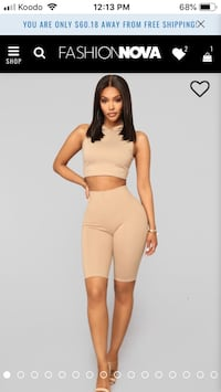 Fashion Nova 2 piece set London, N5W 2V1