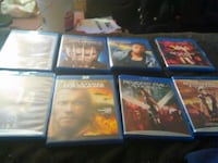 eight assorted Blu-ray movies  Somerville, 02145