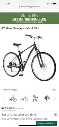 Gt Passage Bike Purchased at $499 Price is negotiable though Las Vegas, 89156