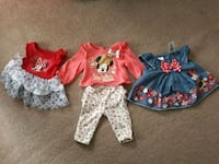 Gently used newborn Minnie Mouse clothes  Seaford, 19973