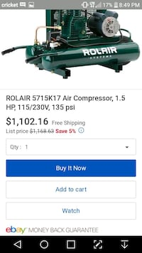Roliar compressor the pic is of one off internet  Oklahoma City, 73129