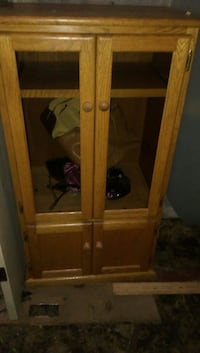 Brown Wooden Armoire. Only $60!!