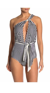 Nicole Miller convertible one piece swimsuit