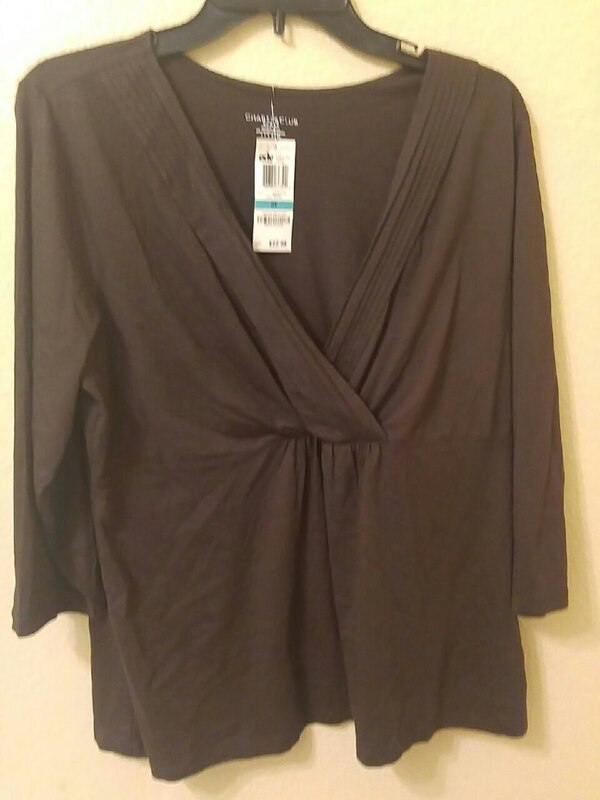 Plus size 14/16 new tags Macy's $8
