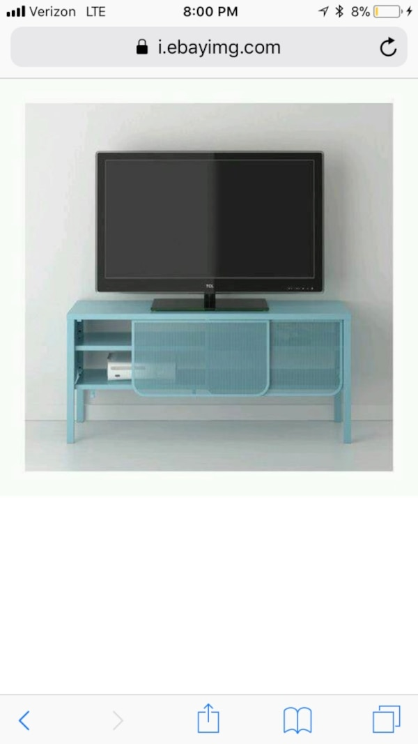 Teal Metal Tv Stand Ikea Nittorp