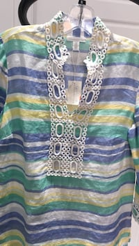New Charter Club Blouse Size M