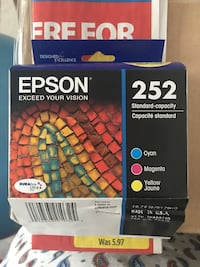 EPSON 252 3 colours Fort McMurray, T9H 1H6