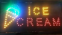 ice cream LED signage Ottawa, K1V 8Y5
