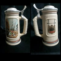 Collectible beer steins $10 each