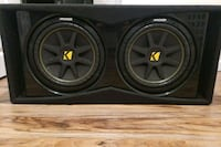 Kicker 12 in subwoofers  195 mi