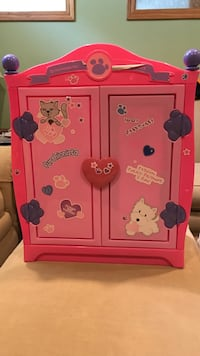 Build a Bear clothing armoire toy