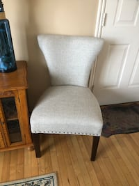 Comfortable chairs brand new. Wide seat
