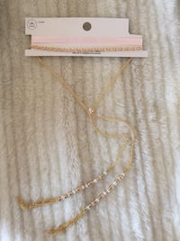 New gold & pink long Chockers Hagerstown, 21740