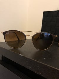 Brown gradient ray bans style RB3546 San Francisco, 94102