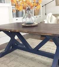 X Farmhouse table made to order St Albert, T8N 0B7