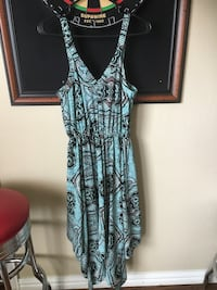 H&M sleeveless green and black dress size 8 Carrollton, 75010