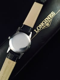Longines Watch Mechanical Cal 30L Stainless Steel 1960s