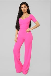 Hot pink jumpsuit  Richmond Hill, L4B 3H1