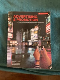 Advertising and promotion textbook Ajax, L1T 0E4