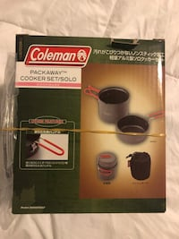 Coleman packaway cooker set