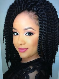 Hair braiding, weaving, all types of extensions, eyebrows, eyelashes, nails, wedding packages makeover  Waterbury, 06708