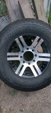 Brand new tires and Good rims _fits f250 and f350 Corpus Christi, 78404