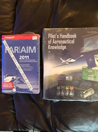 FAA Private Pilot's License FAA Training Manuals/Handbooks, 3 Manuals Washington, 20024