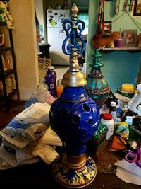 Blue and gold centerpiece Kankakee, 60901