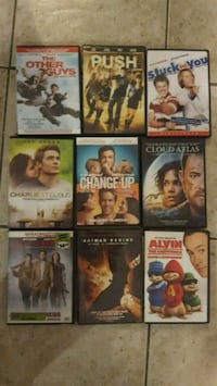 DVD $4 each or 36 for all Brantford, N3S 4T6