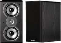Sub and bookshelf speakers