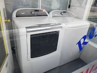 white Whirlpool clothes washer and dryer set Gainesville