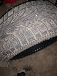 Winter tires 225/40R18 Fort Saskatchewan