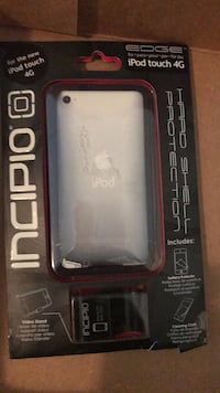 Black and gray iPod touch 4G case Abbotsford, V3G 0B7
