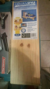 Solid Pine Shelf Kit -24""