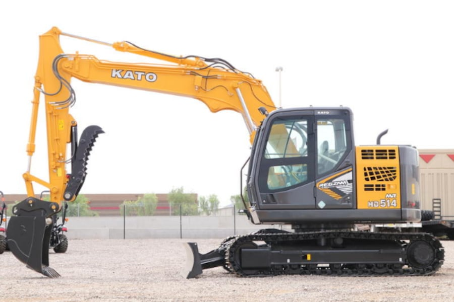 2020 KATO KATO HD514MR-7 Excavator with Blade 094f141a-1d8d-430f-bc51-2d91486c5738