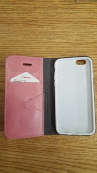 Protective leather case for IPhone 6/6S. Burning stock. TORONTO