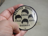 Beatles Rare Pin Purcellville