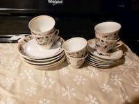 Tea cup/ plate set  Cross Junction, 22625