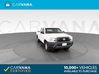 2015 Toyota Tacoma Access Cab pickup Pickup 4D 6 ft White <br Petersburg