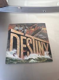 The Jackson's Destiny vinyl album Chicago, 60614