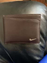 Leather Nike wallet