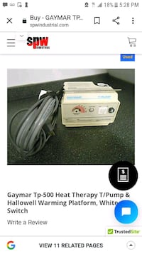 Gaymar t-500 therapy pump  New Orleans, 70127