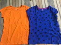 Two blue and red scoop-neck shirts Edmonton, T6K 2P4