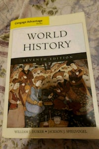 World History 7th Edition Duiker, Spielvogel Greensboro, 27407